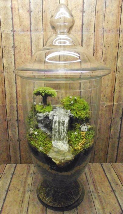 Маленький водоем в саду. /Фото: i.pinimg.com
