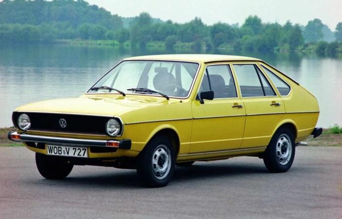 Один из первых автомобилей Volkswagen Passat. /Фото: autode-static.de