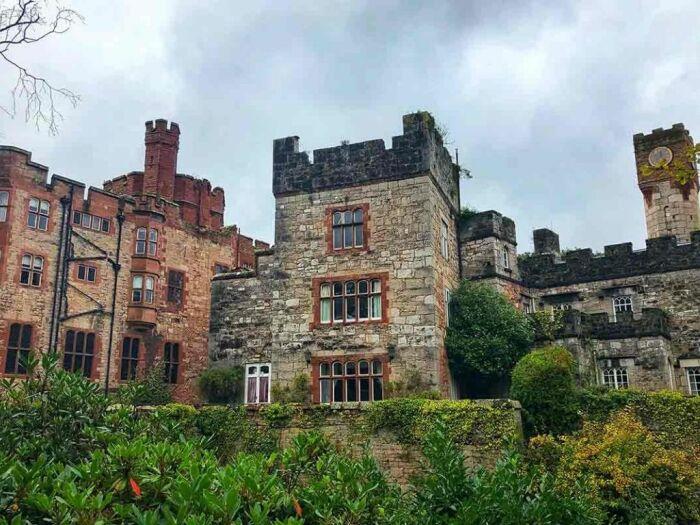 Облик замка Ruthin Castle обещает незабываемые впечатления. /Фото: ruthincastle.co.uk