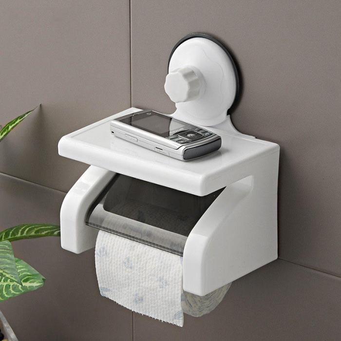 С таким держателем туалетной бумаги средство связи и развлечения всегда будет под рукой. /Фото: img.joomcdn.net