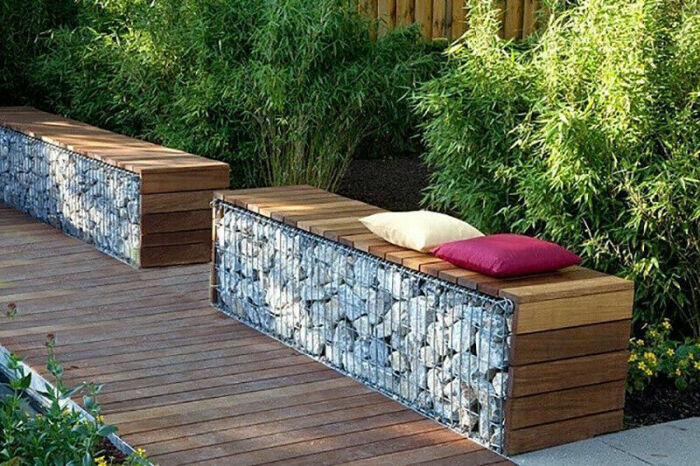 Стильное, надежное  и красивое решение для приятного отдыха на дачном участке. /Фото: i.ebayimg.com