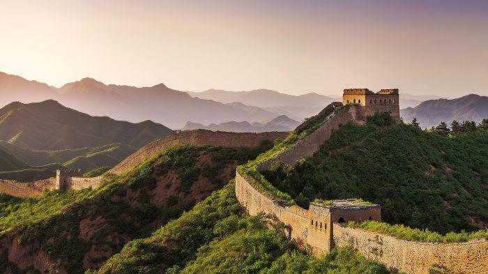 Великая китайская стена действительна большая и длинная. /Фото: videoru.cgtn.com