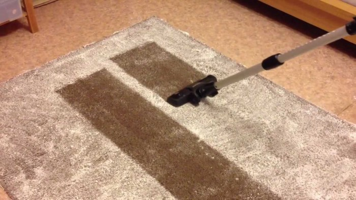Вернуть красивый вид ковровому покрытию очень просто. /Фото: i.ytimg.com.