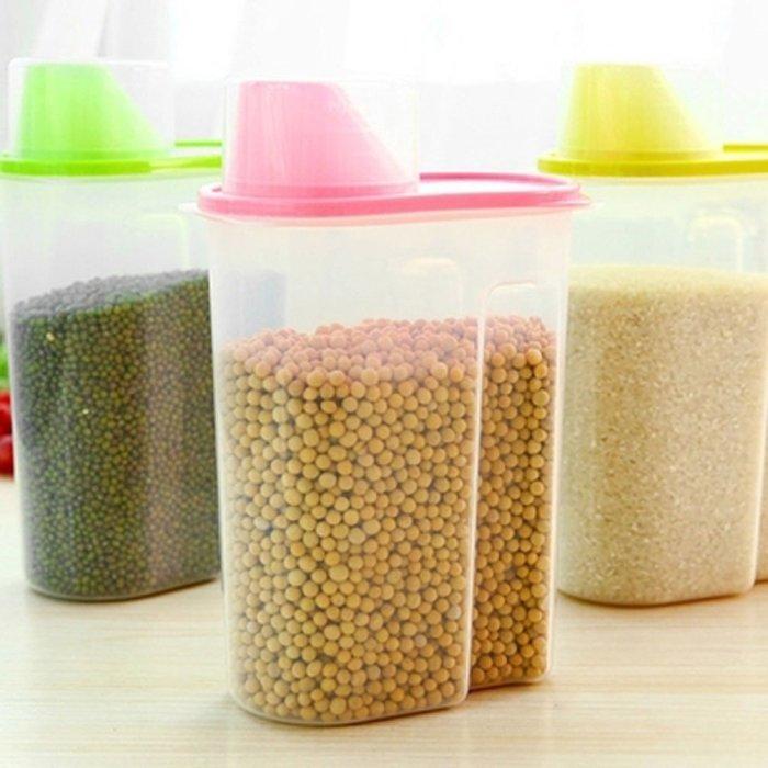 С пластиковыми контейнерами на вашей кухне не будет беспорядка. /Фото: images-na.ssl-images-amazon.com