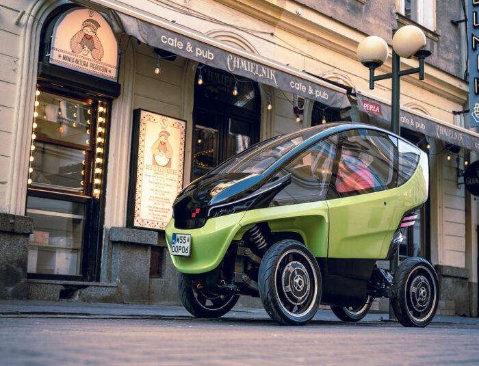 Маленькая, стильная машина, которая очень пригодится в городе с узкими улочками. /Фото: avtodream.org