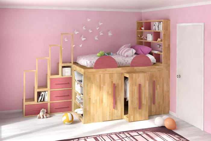 Детская кровать Impero Young. /Фото: cinius.com