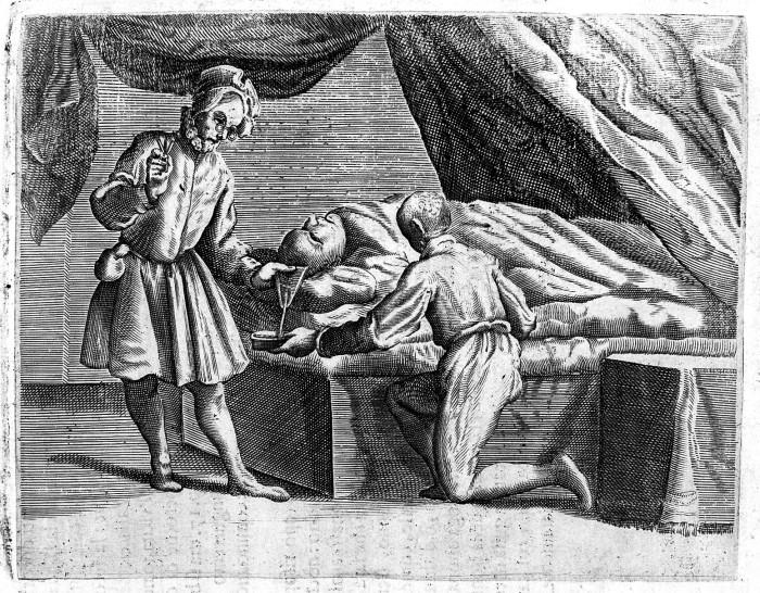 Древняя миниатюра. /Фото: upload.wikimedia.org