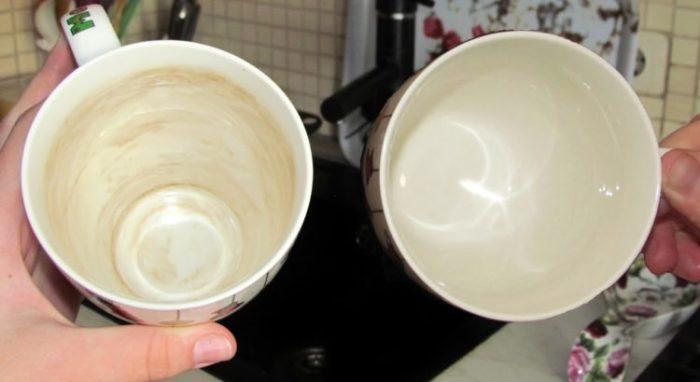 Из красивой чистой кружки и кофе пить приятнее. /Фото: mirrasteniy.com