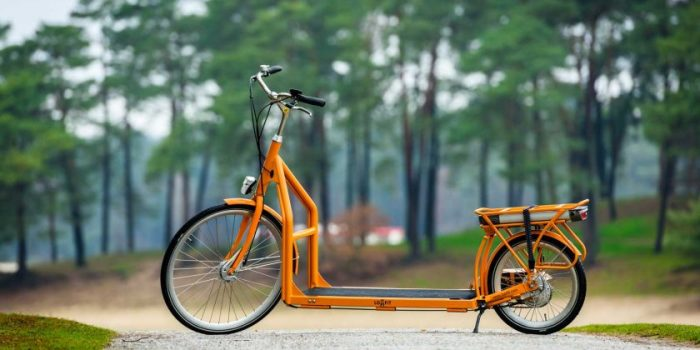 Необычное транспортное средство — 2 в 1. /Фото: apelsun.ua