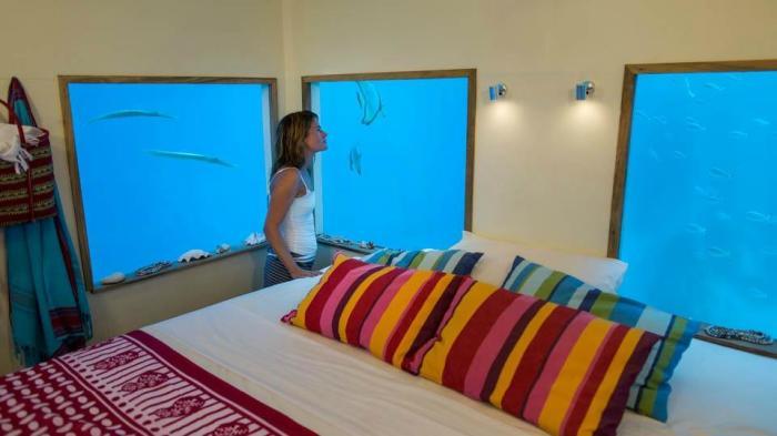 Ночевать под водой очень увлекательно. /Фото: media-cdn.tripadvisor.com