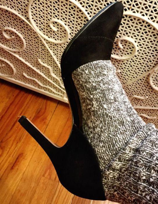 Чтобы обувь не причиняла дискомфорта, важно не только подобрать правильную модель. /Фото: i.pinimg.com