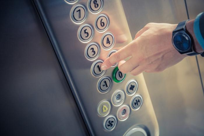 Кнопки лифта – рассадники вирусов. /Фото: contents.newspicks.com