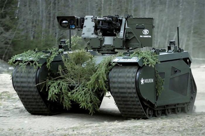 THeMIS оказывает эффективную поддержку пехоте, увеличивая боевую мощь солдат. /Фото: techexplorist.com