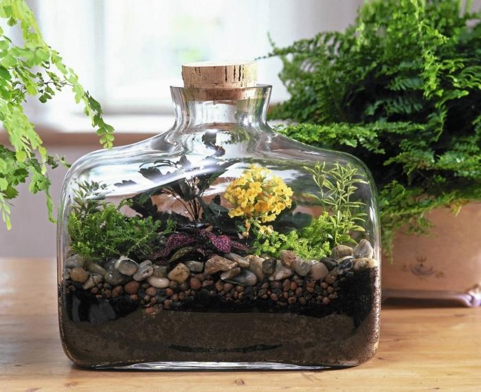 Форма у мини-сада может быть самой разнообразной, как простой, так и замысловатой. /Фото: s3.eu-central-1.amazonaws.com