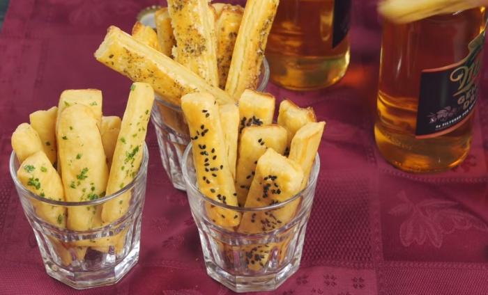 Картофельные палочки – оригинальная закуска к пиву. /Фото: https://www.youtube.com/watch?v=eA2Jvip5dgE / Webspoon PLUS