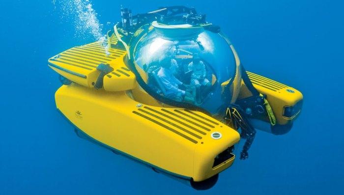 Triton обеспечивает комфортное наблюдение за подводными обитателями. /Фото: robbreportedit.files.wordpress.com