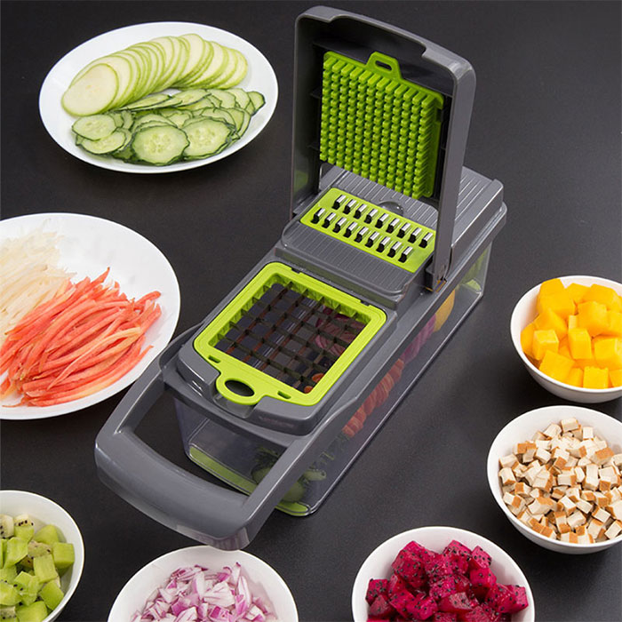 Овощерезка значительно сокращает время на измельчение продуктов. /Фото: ae01.alicdn.com