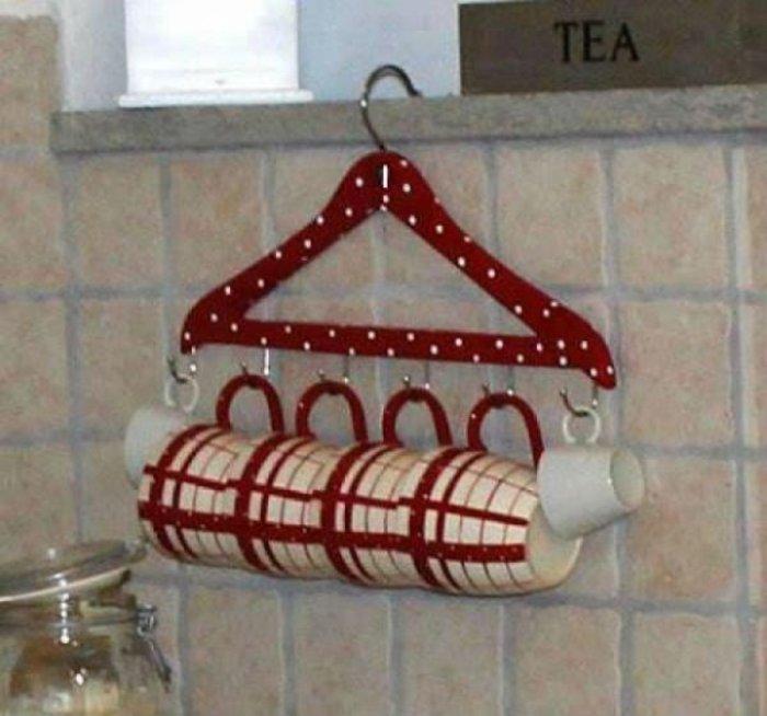 На кухне вешалка чувствует себя, как дома. /Фото: dominiomundial.com