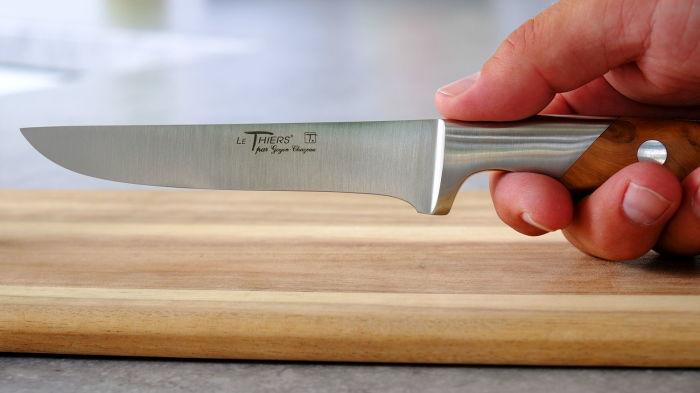 Не использовать для работы неправильный нож — лучшая идея для того, чтобы облегчить себе жизнь. /Фото: original-thiers.de