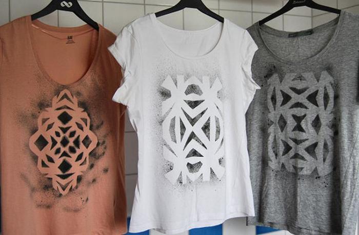 Удачная идея для оформления слишком скучной одежды. /Фото: welke.nl