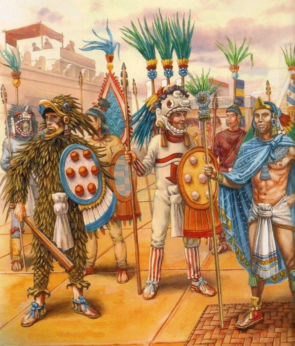 Империя ацтеков существовала на территории центральной части современной Мексики. /Фото: i.pinimg.com