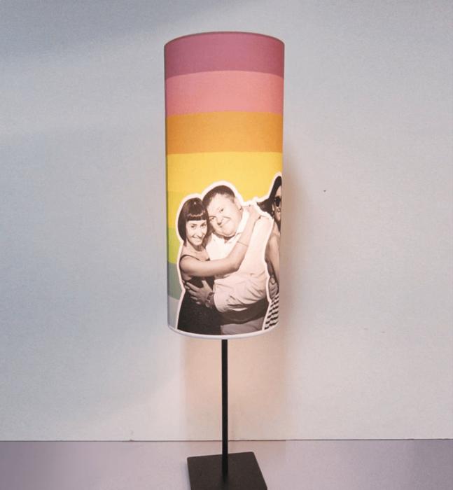Необыкновенный эффект от простого оформления лампы. /Фото:  abbigli.com