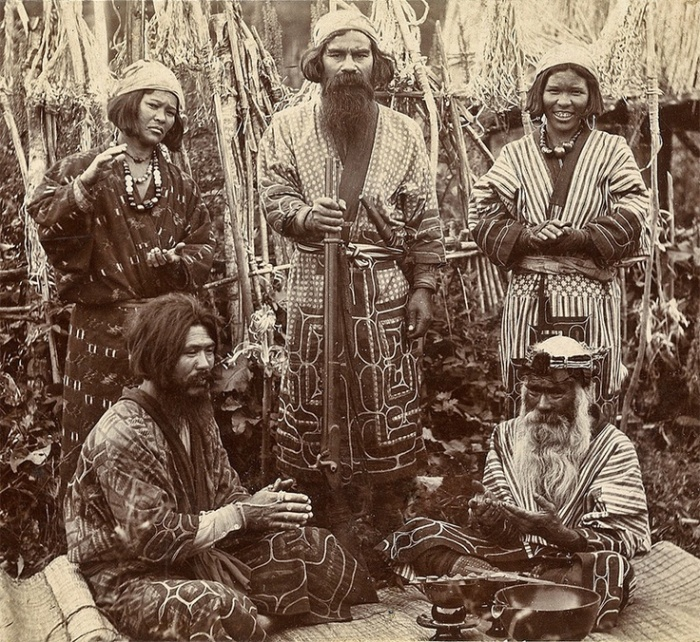 Мужчины Хоккайдо. /Фото: suenee.cz