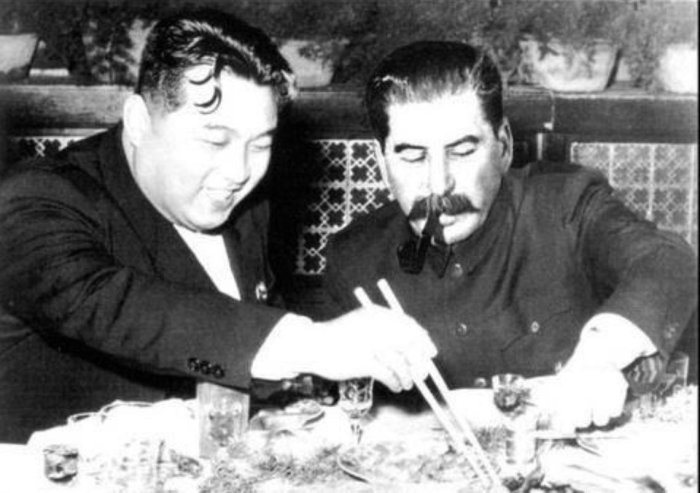 Сталин был непритязателен к еде. /Фото: pbs.twimg.com