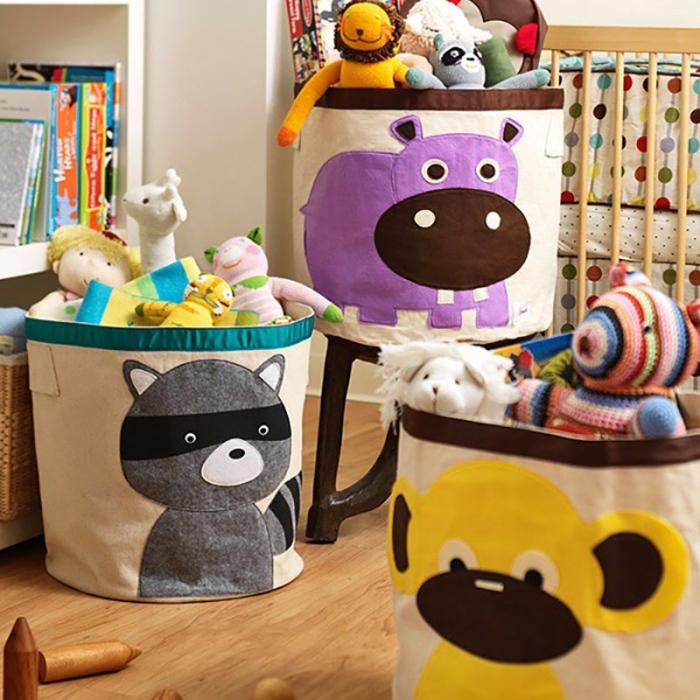 Яркие и классные мешки для хранения игрушек. /Фото:coolbaby.org