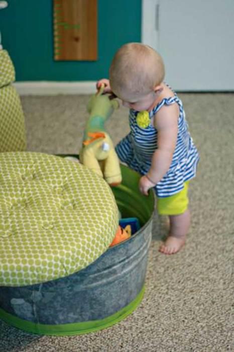 Угадайте, из чего сделан этот пуфик. /Фото: 4.bp.blogspot.com