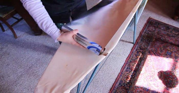 Подстелите под чехол фольгу и гладьте в два раза быстрее. /Фото: sftimes.s3.amazonaws.com