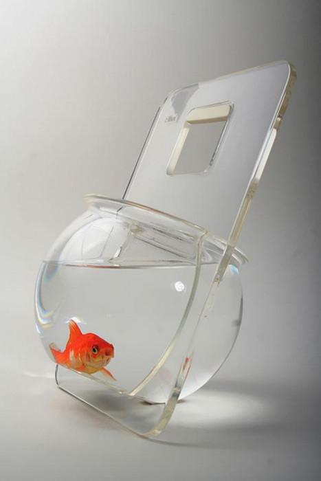 Удобно рыбке будет мир смотреть. /Фото: i.pinimg.com