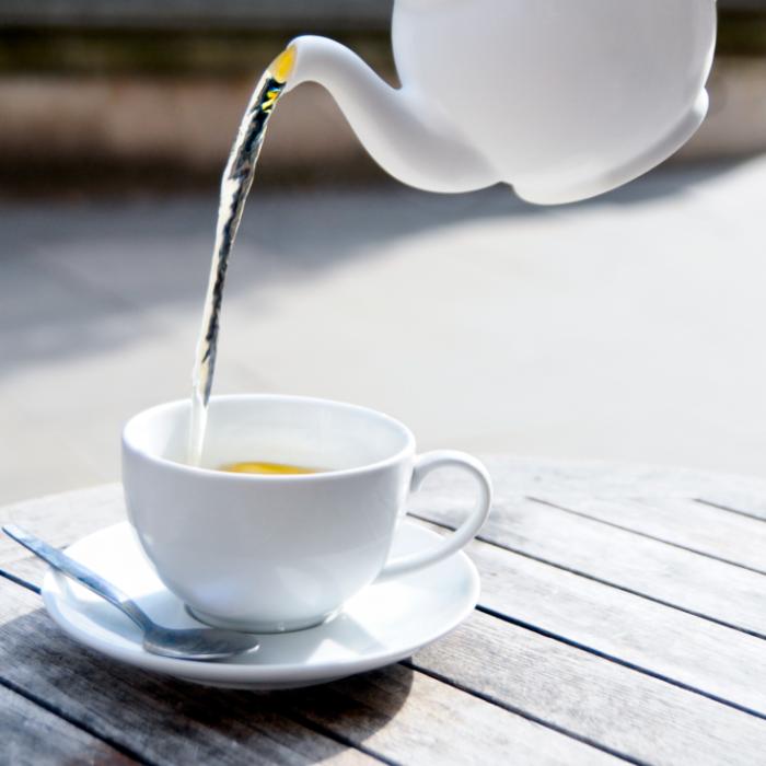 Чай со льдом. /Фото: draxe.com