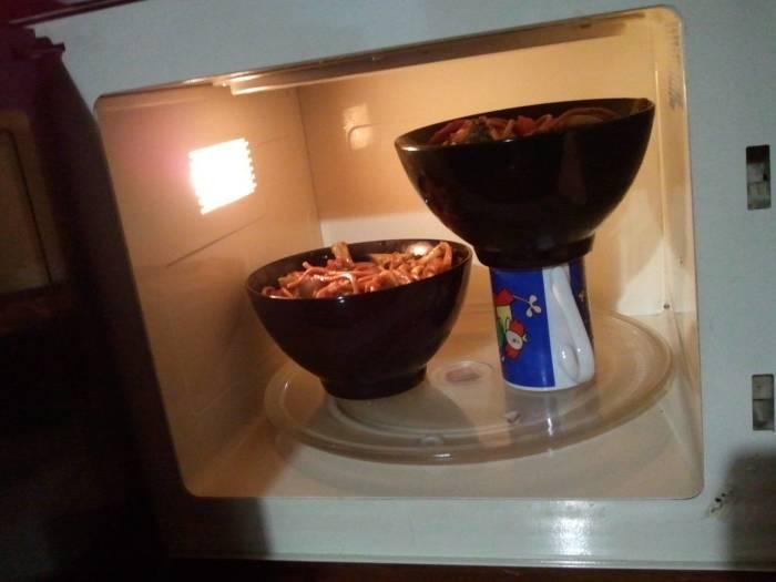 Чем выше еда, тем больше она поджаривается. /Фото: cdn.diply.com