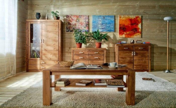 Воск защищает лакированную мебель от выцветания на солнце. /Фото: legnomebel.ru