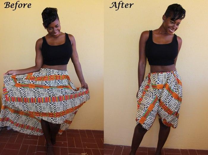 Платье превращается, превращается…. в удобные шорты. /Фото: i.ytimg.com