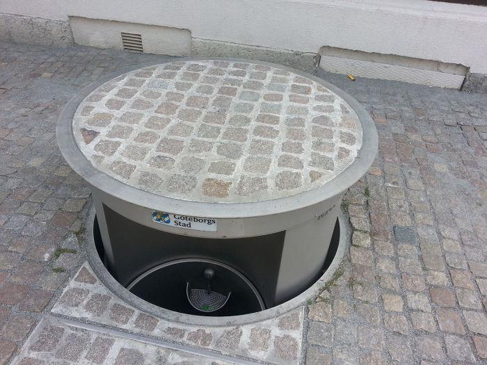 Аккуратно, вырастает прямо из-под земли! /Фото: citymetric.com