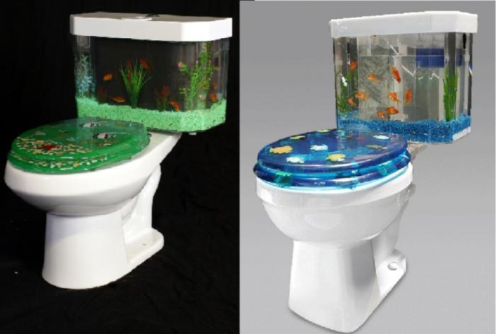 Самый умиротворяющий туалет в мире. /Фото: zvykom.com