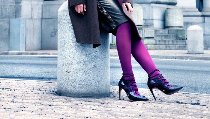 Колготки цвета года. /Фото: woman-fox.ru