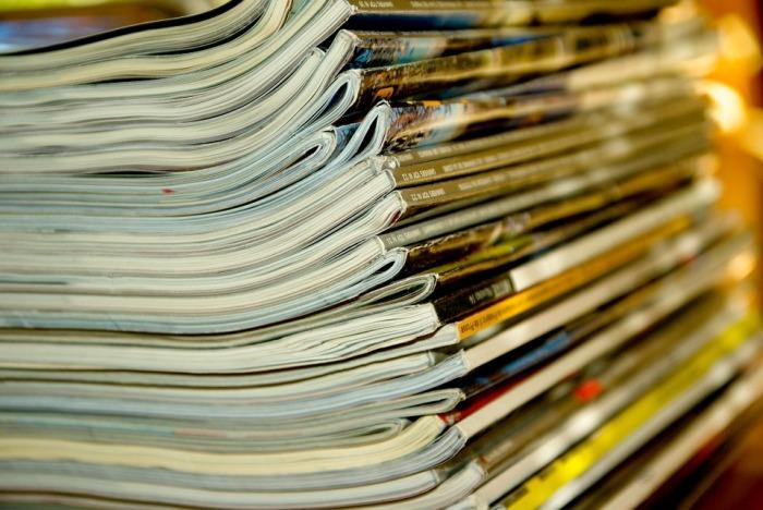 Стопка старых журналов. /Фото: ignm.ru