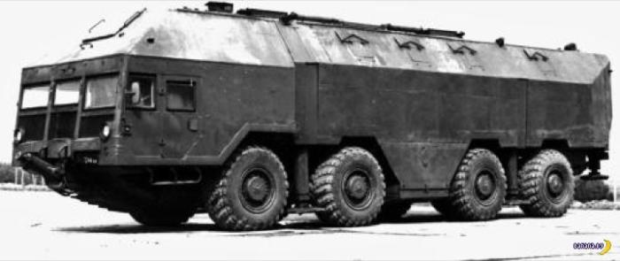 А имя этому «монстру» КШМ МАЗ-543.