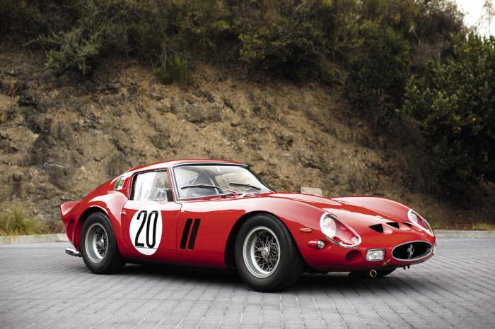 Ferrari 250 GTO - самый дорогой ретро автомобиль, когда-либо проданный на аукционе.