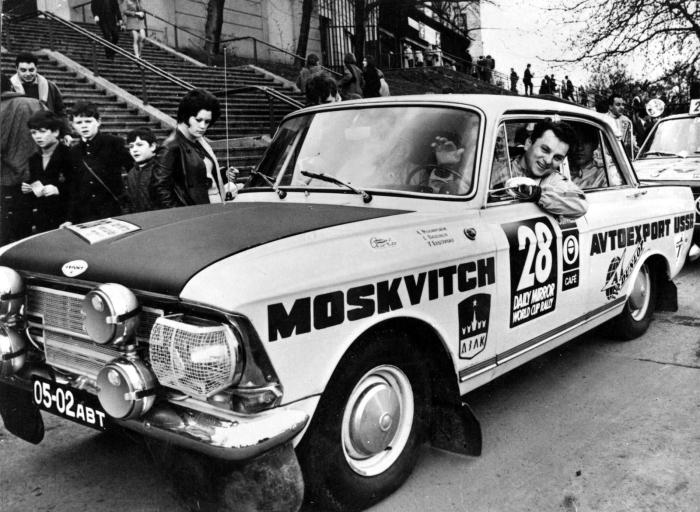 Наиболее успешным на международной спортивной арене оказался Москвич 412. | Фото: kolesa.ru