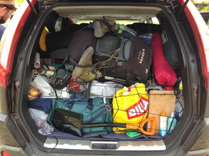 Обидно, наверное, отправиться к праотцам из-за ботинка в багажнике. | Фото: https: mtdata.ru