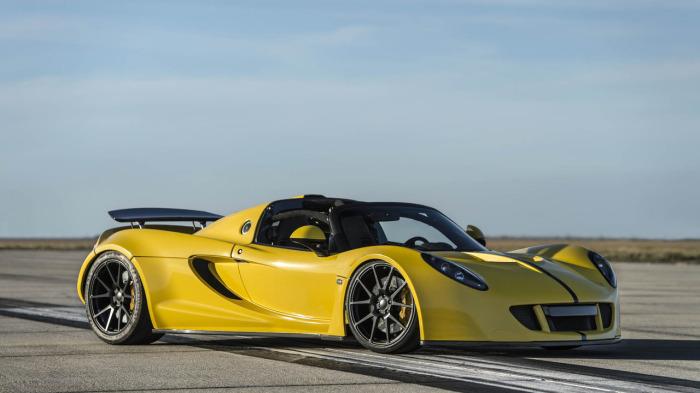 Hennessey Venom GT разработан на базе кузова Lotus Exige. | Фото: autoplus.su