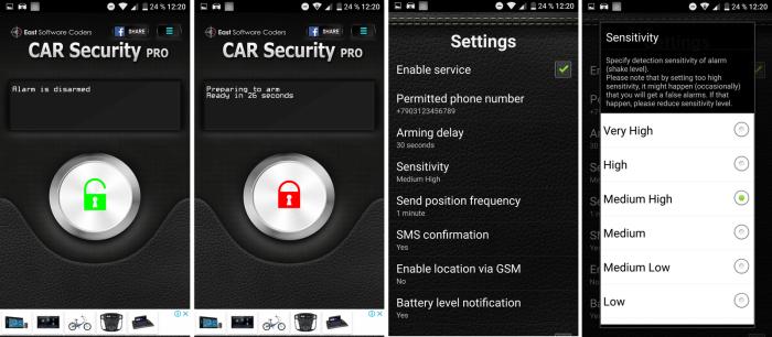 С помощью встроенного в каждый смартфон акселерометра приложение фиксирует любое перемещение машины. | Фото: .kolesa.ru