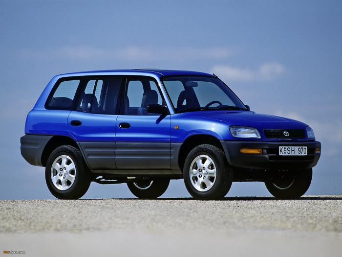 Так выглядел RAV4 в те времена, когда Toyota еще делала интересные машины. Фото: img.favcars.com