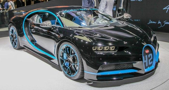 Bugatti Chiron впечатляет буквально всем. | Фото: en.wikipedia.org