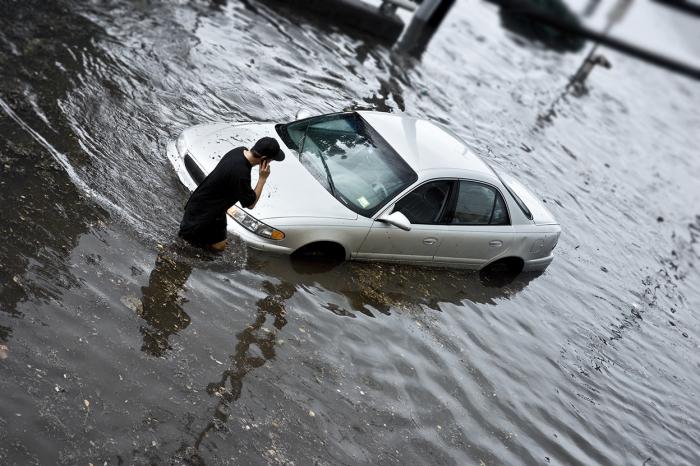 Утопленная машина – целый кладезь проблем. | Фото: business.carfax.eu