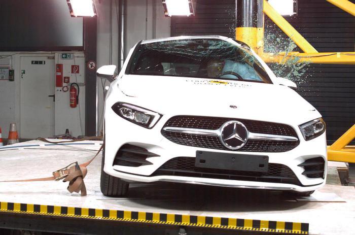 Самым безопасным автомобилем в 2018 году стал Mercedes-Benz A-Class. | Фото: motori.quotidiano.net.